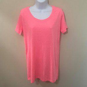 NWOT 2/$25 Zenana Neon Pink T-Shirt (S, M, L)